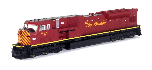 Kato 376390 EMD SD90 43MAC San Luis and Rio Grande Diesel