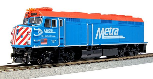Kato 376571 EMD F40PH Chicago Metra