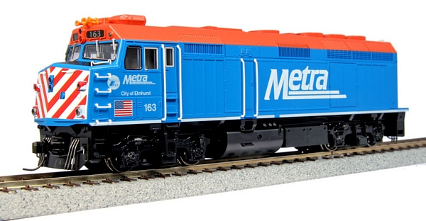 Kato 376573 EMD F40PH Chicago Metra