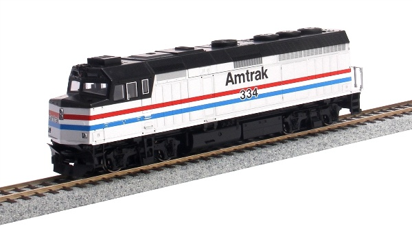 Kato 376581 EMD F40PH Amtrak Phase III with Ditch Lights