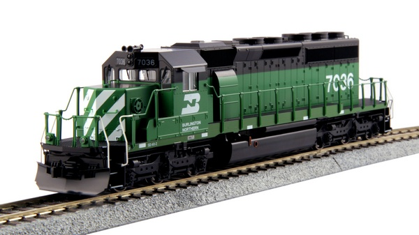 Kato 376604 EMD SD40-2 Mid Production BN