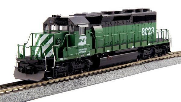 Kato 376605 EMD SD40-2 Mid Production BN