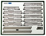 Kato 106056 California Zephyr 11 Car Passenger Set
