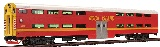 Kato 356024A Pullman Bi Level Cab Coach