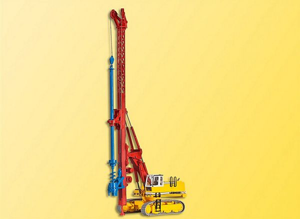 Kibri 11279 European Construction Equipment Hydraulic Excavator Derrick