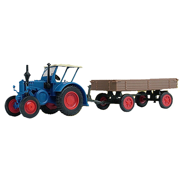 Kibri 22232 Tractor Lanz With Rubber Tyre Car