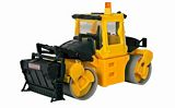 Kibri 11558 BOMAG BS180 Compactor on Steel Wheels