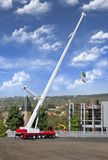 Kibri 13021 H0 DEMAG AC 665 telescopic crane