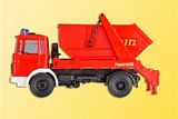 Kibri 18201 Fire Brigade with Buckett Tipper