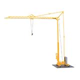 Kibri 10390 SK 20 Fast-erecting Crane With Trailer