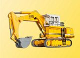 Kibri 11278 H0 LIEBHERR Litronic 992 with backhoe