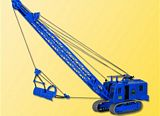 Kibri 11283 H0 MENCK excavator with drackbucket