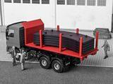 Kibri 13051 Unrolling Platform with Crane Weights Kit