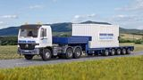 Kibri 13057 MB Actros Tractor with Loaw Boy Trailer Kit