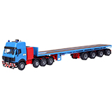 Kibri 13535 MB Tractor Unit with High Cab Kit
