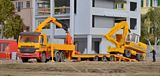 Kibri 13579 MB Actros with Crane and Trailer Kit