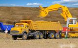 Kibri 14025 MB Articulated Sand Gravel Truck Kit