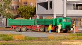 Kibri 14040 MAN Tipper with Trailer Kit
