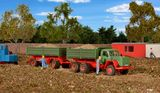 Kibri 14063 MAGIRUS DEUTZ 230D 26AK Tipper with Trailer Kit
