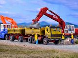 Kibri 14067 MB Dump Truck with Trailer Kit