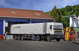 Kibri 14638 DAF with Curtain Sided Trailer