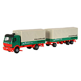 Kibri 14639 MB SK Double Trailer Truck Kit