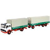 Kibri 14640 Mercedes Benz 1632 Double Trailer Truck