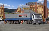 Kibri 14652 ACTROS Cab with Semi Trailer
