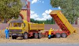 Kibri 14674 MB Dump Truck and Trailer Kit