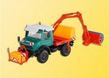 Kibri 14989 Euro II Flatbed Street Sweeper with Cleaning Brushes