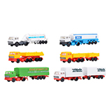 Kibri 36980 Set of MB and DAF Trailer Trucks Kit