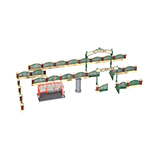 Kibri 38601 Decode Set Fence for English Garden