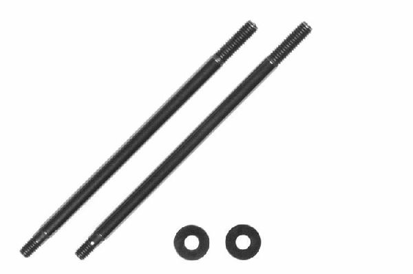 Kyosho BSW75 Shock Shaft 3x61mm-2Pcs- 97009-61