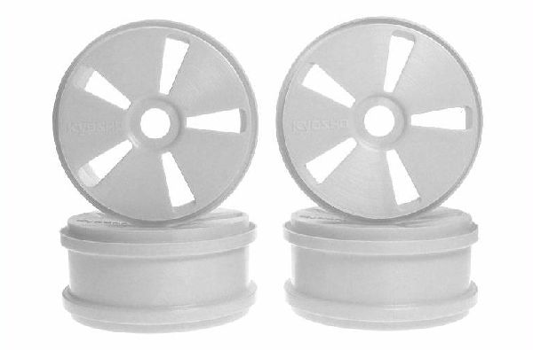 Kyosho IFH002H TEN-SPOKE WHEEL WHITE-4PCS
