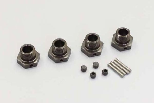 Kyosho IFW107GM Wheel Hub Gunmetal