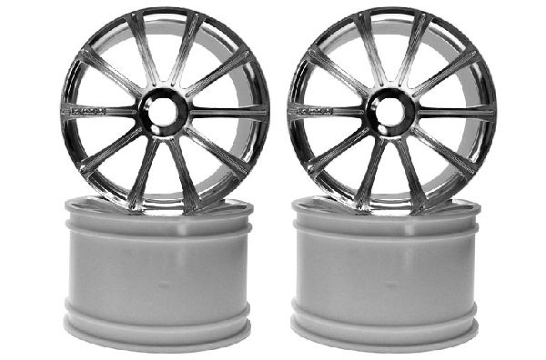 Kyosho ISH050SM Ten-Spoke Wheel Plated-ST-R-4pcs