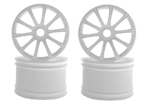 Kyosho ISH050W Ten-Spoke Wheel White-ST-R-4pcs