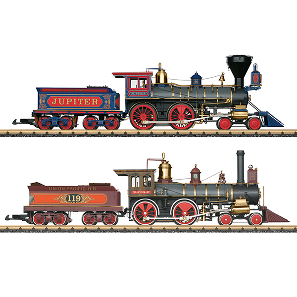 LGB 29000 Golden Spike Steam Locomotive Set
