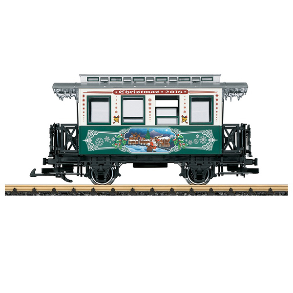 LGB 36018 Christmas Car for 2018