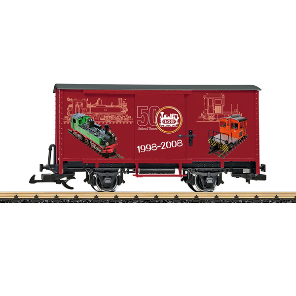 LGB 40504 Steel Boxcar 50th Anniversary