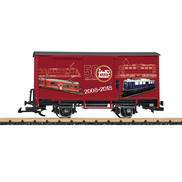 LGB 40505 Steel Boxcar 50th Anniversary