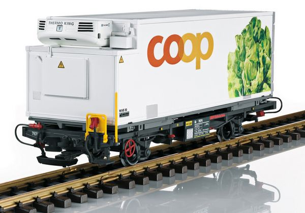LGB 45899 RhB Container Car for Coop Lettuce