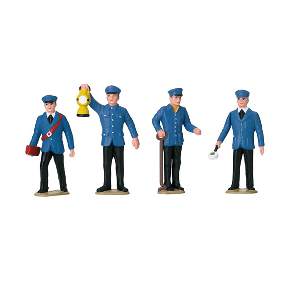 LGB 53001 Set of Figures for Railroad Workers in Germany