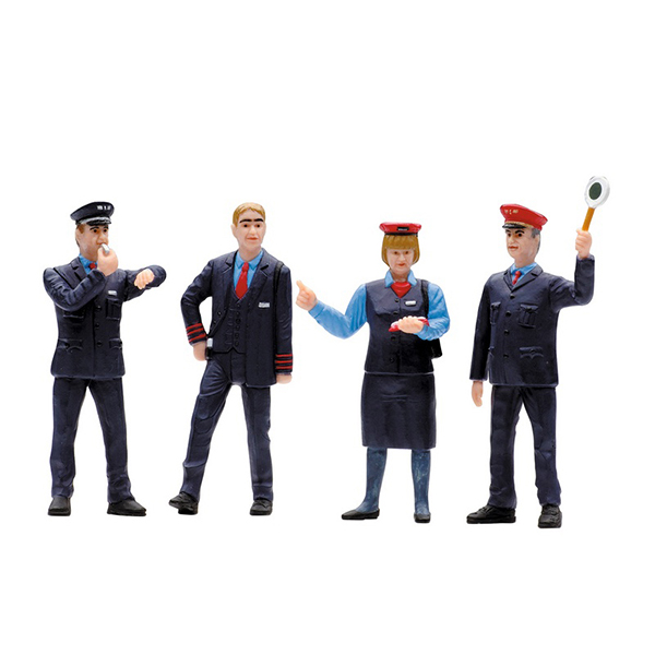LGB 53002 Set of Figures for Railroad Workers in Switzerland