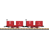 LGB 32441 Grizzly Flats Passenger Car Set
