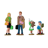 LGB 53004 Set of Figures for a Family