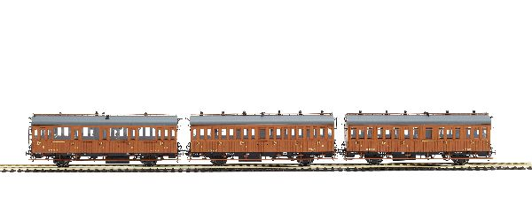 Mabar 81608 Wood Passenger Car Set