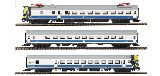Mabar 84323 3 Unit Railcar UT432 with Sound DCC