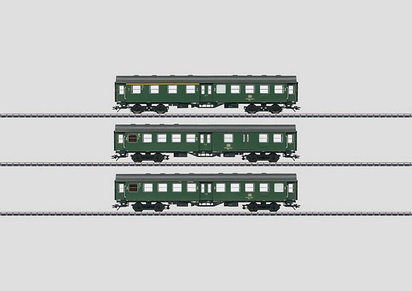Marklin 00764.1 Umbauwagen Set of 4 Rebuild Passenger Cars
