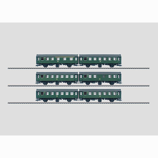 Marklin 00770 Set with 12 Pairs of Cars